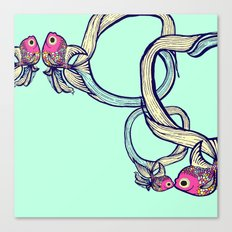 Colorful Fish  Canvas Print