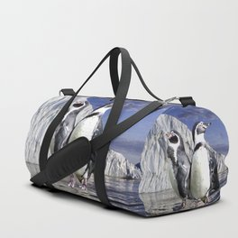Penguins and Glacier Duffle Bag