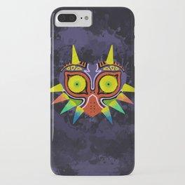 Majora's Mask Splatter iPhone Case