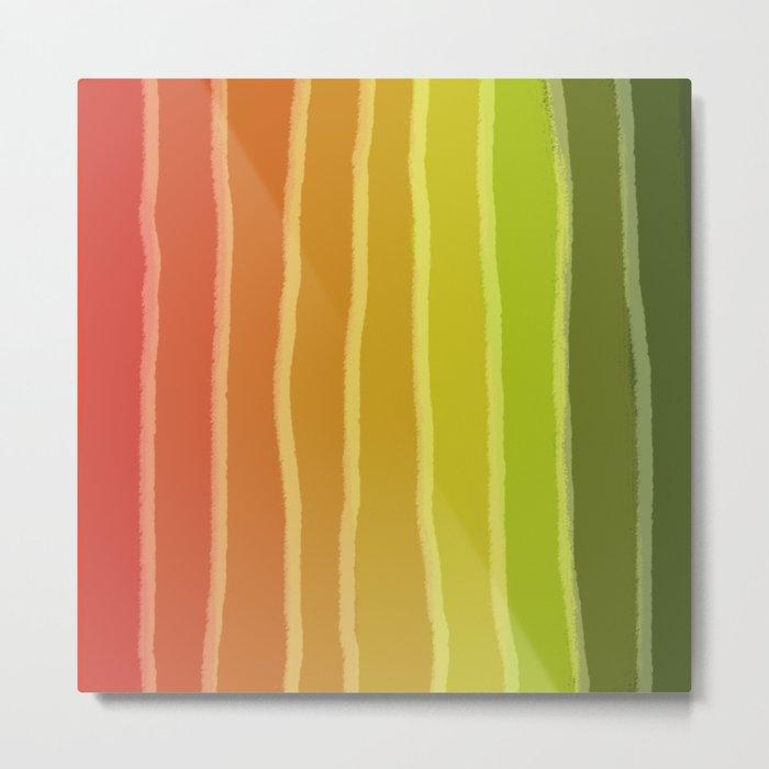 Vertical Color Tones #1 Metal Print
