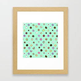 Donut You Want Some Framed Art Print