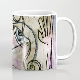 Abstract Nude Goddess No. 40L by Kathy Morton Stanion Coffee Mug