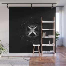 Gravity Snow Angel Wall Mural