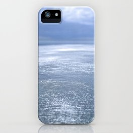 Sea and space iPhone Case