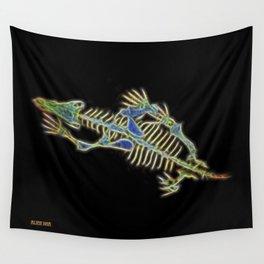 Bart The Dog's Alien Secret Wall Tapestry