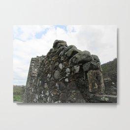 Stones on Stones Metal Print