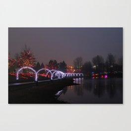 fog arches Canvas Print