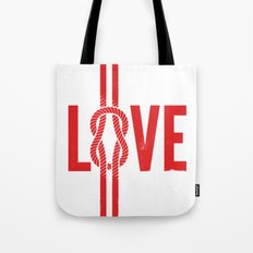 Love Knot (Red) Tote Bag