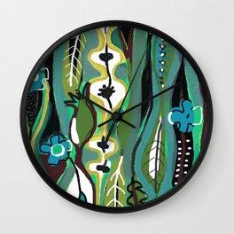 Rainforest Wall Clock