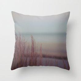 winter warming II Throw Pillow