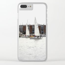 The Harbor, Annapolis - View II Clear iPhone Case