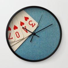 A Full House Wall Clock