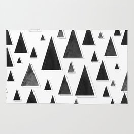 Modern Christmas Trees | Holiday Minimalism Rug