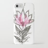 lotus iPhone & iPod Cases featuring Lotus by Himadri Pachori