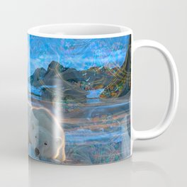 Just Chilling and Dreaming (Polar Bear) Coffee Mug