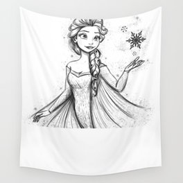 Let It Go Wall Tapestry