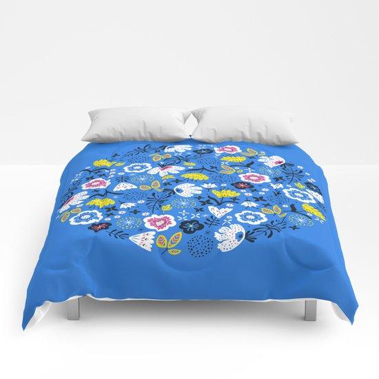 Fresh Flora Comforters