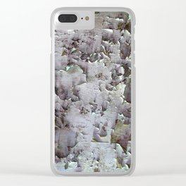 Ancient ceilings textures 132a Clear iPhone Case