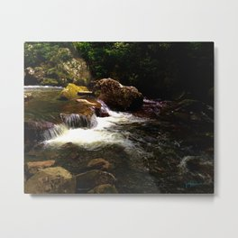 Little Stony Creek Rapids - Cascade Trail Metal Print