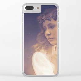 Elf Princess Clear iPhone Case