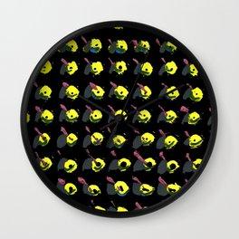 Pattern 2 Wall Clock