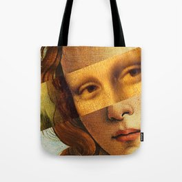 Mona Lisa Tote Bag