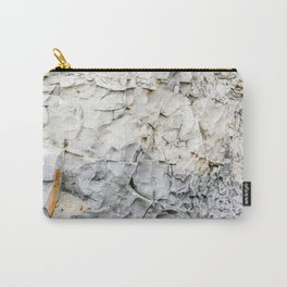 Beach Cliffs Texture Art Print Cap Blanc/Griz Nez France Travel Photography Carry-All Pouch