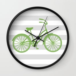 kermit bike Wall Clock