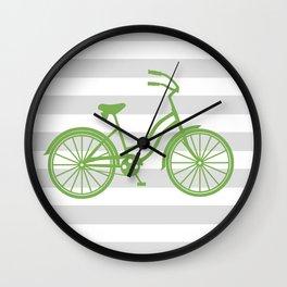 kermit bike Wall Clock