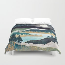 Star Lake Duvet Cover