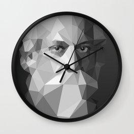 Rabindranath Tagore (7 May 1861 – 7 August 1941) Wall Clock