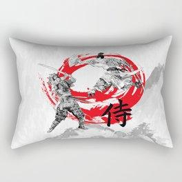 Samurai Warriors Rectangular Pillow