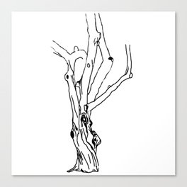 unfinished tree Canvas Print