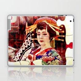 Geisha's Puzzle Laptop & iPad Skin