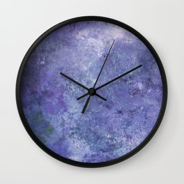 Lavendula Wall Clock
