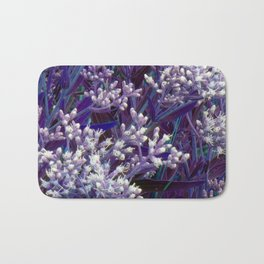 Bunches of Tiny Flowers Bath Mat