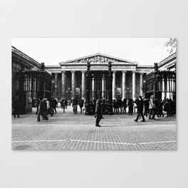 British Museum - Entrance Canvas Print