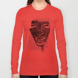 in the face of madness Long Sleeve T-shirt