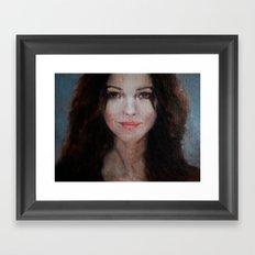 Monica Framed Art Print