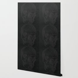 Chalk Lines Wallpaper