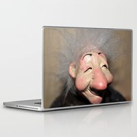 elf Laptop & iPad Skins featuring elf by  Agostino Lo Coco