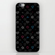 Hipster figures  iPhone & iPod Skin