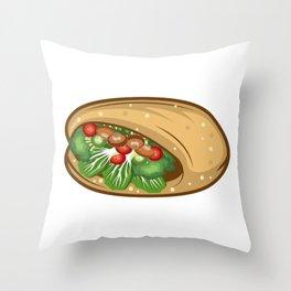 Stop Kebap Kebab Lover Gift Throw Pillow