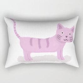 Pinky Cat Rectangular Pillow