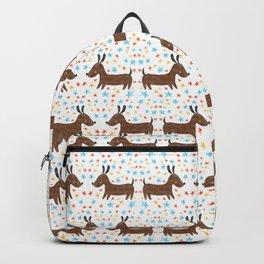 Yip Yip Hooray Weenie Dog Backpack
