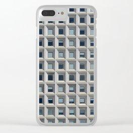 New York Facade Clear iPhone Case