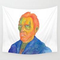 van gogh Wall Tapestries featuring Van  Gogh by gunberk