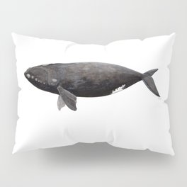 Northern right whale (Eubalaena glacialis) Pillow Sham