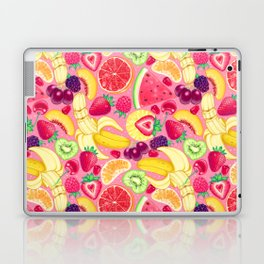 Fruit Cocktail on Pink Laptop & iPad Skin