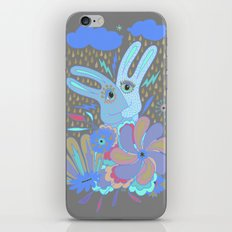 Hugging Rabbits iPhone & iPod Skin